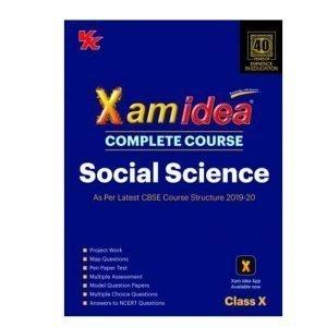 Xam Idea Social Science Class 10th 2019-20