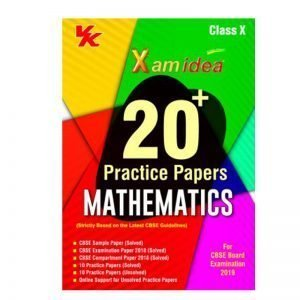 Xam idea 20+ Practice Paper Mathematics Class 10th 2019-20