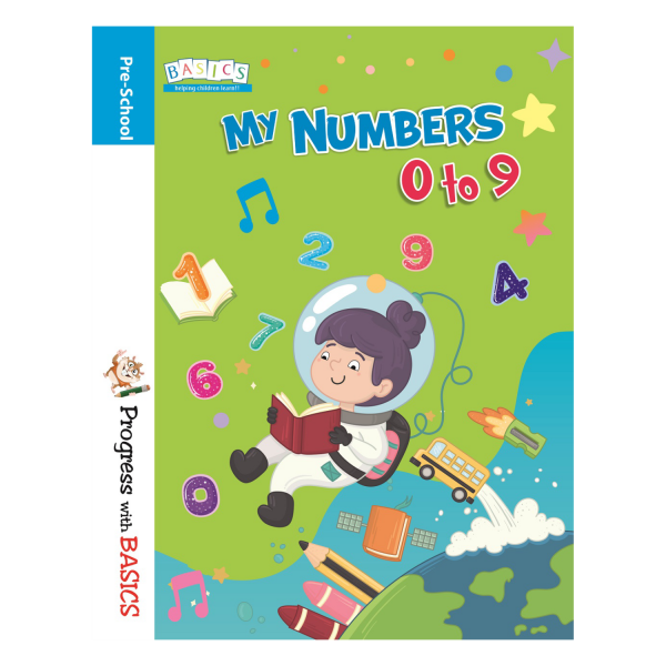 My Numbers 0 to 9 Book – Basics