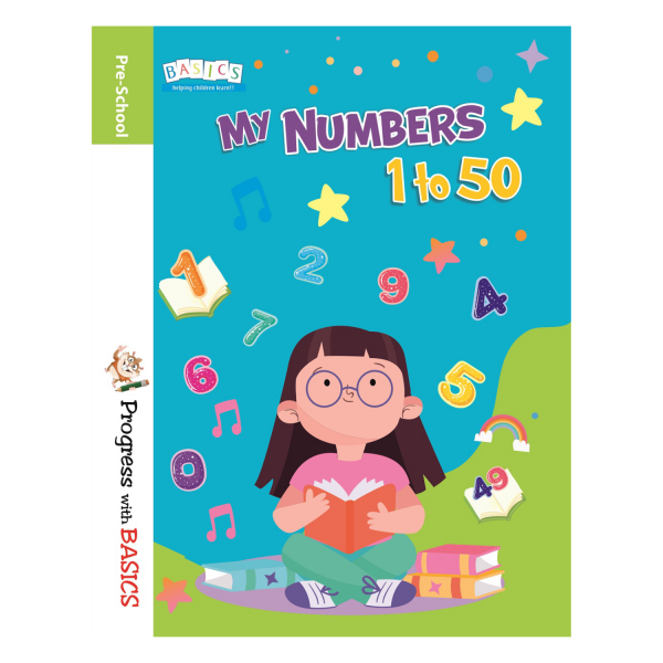 My Numbers 1 to 50 Book – Basics