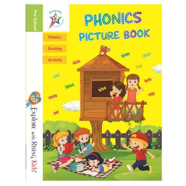 Phonics Picture Book - Rising Kids - Skool Store