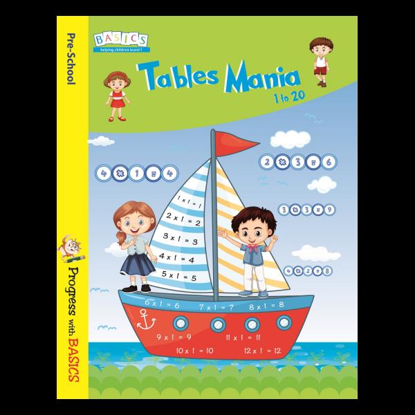 Tables Menia 1 to 20 - Basics