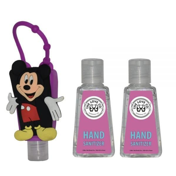 The Love CO. Mickey Mouse And Purple Pack of 2