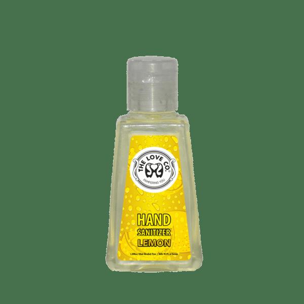 The Love Co. Hand Sanitizer Lemon 1