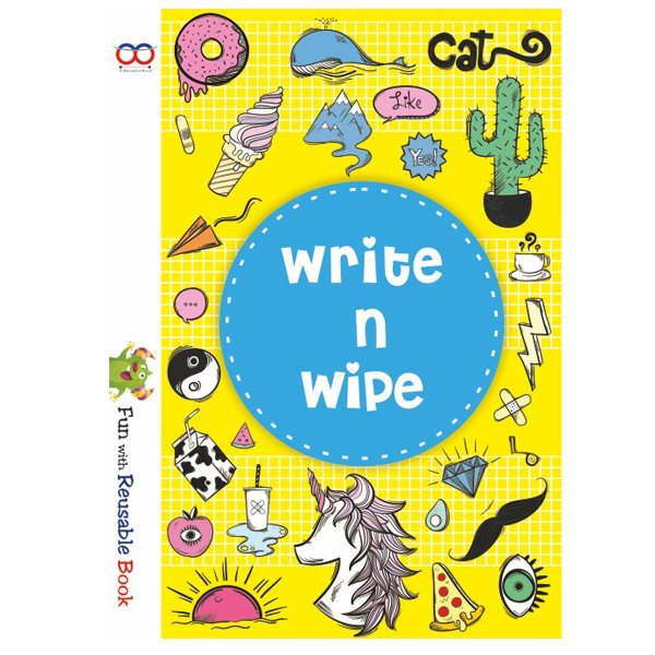 Write And Wipe Book - Reusable Book In India - Reusable NoteBook - Skool Store
