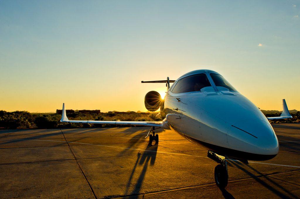 Learjet 60-XR on Tarmac