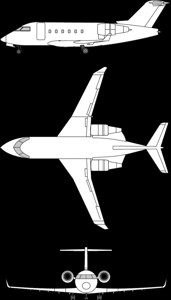 challenger604 blueprint