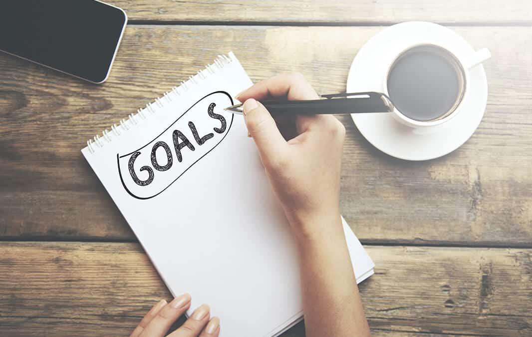 Goals notepad