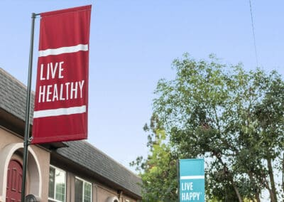Live Healthy Banner