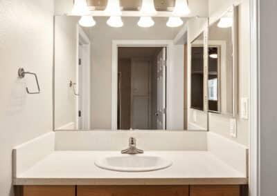 Wide Vanity Mirror