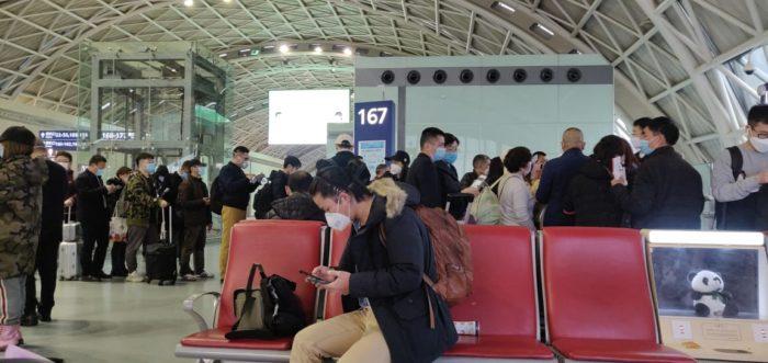 COVID-19 Reportaje de una mexicana en China