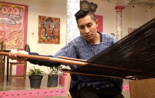Alberto López y la magia de sus textiles