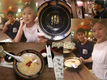 日本東京圖片-一蘭拉麵