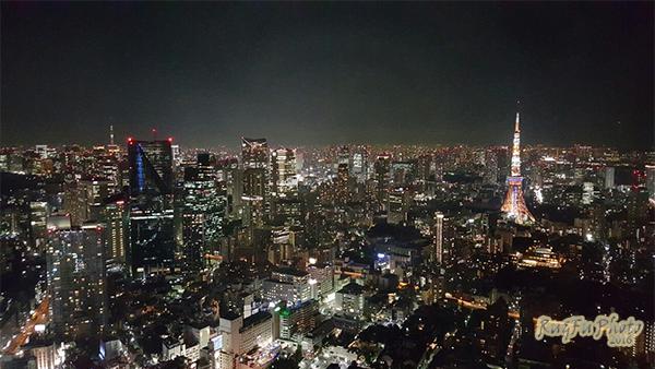 日本東京圖片-六本木夜景