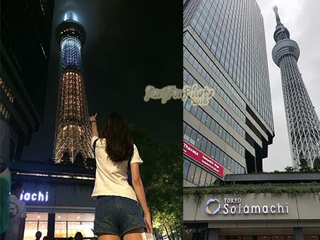 日本東京圖片-晴空塔