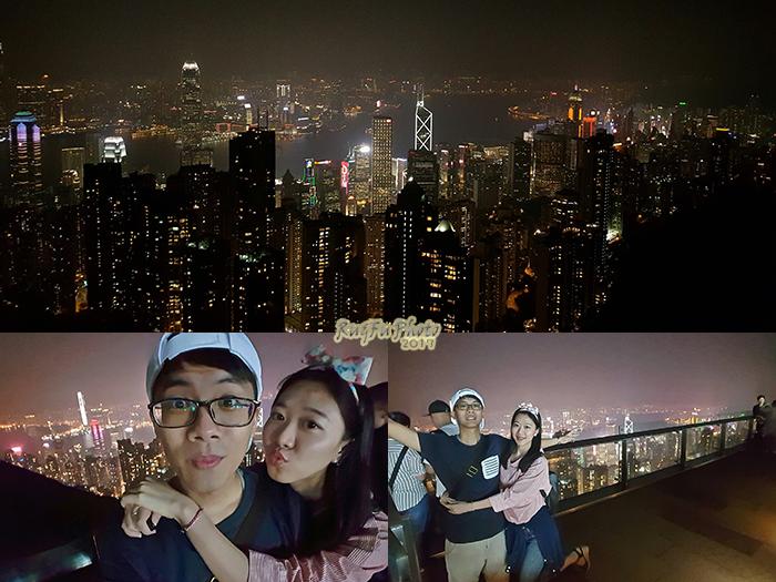 香港圖片-太平山夜景