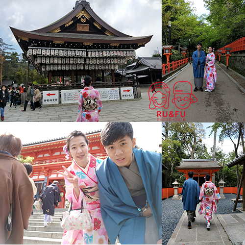 日本關西圖片-八阪神社