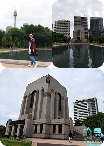 澳洲圖片-戰爭紀念堂+海德公園