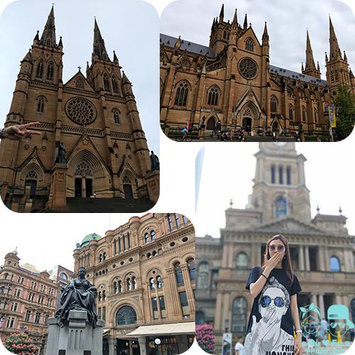 澳洲圖片-聖瑪麗大教堂+維多利亞大廈+市政廳