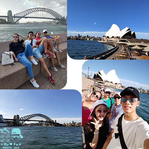 澳洲圖片-雪梨大橋+歌劇院