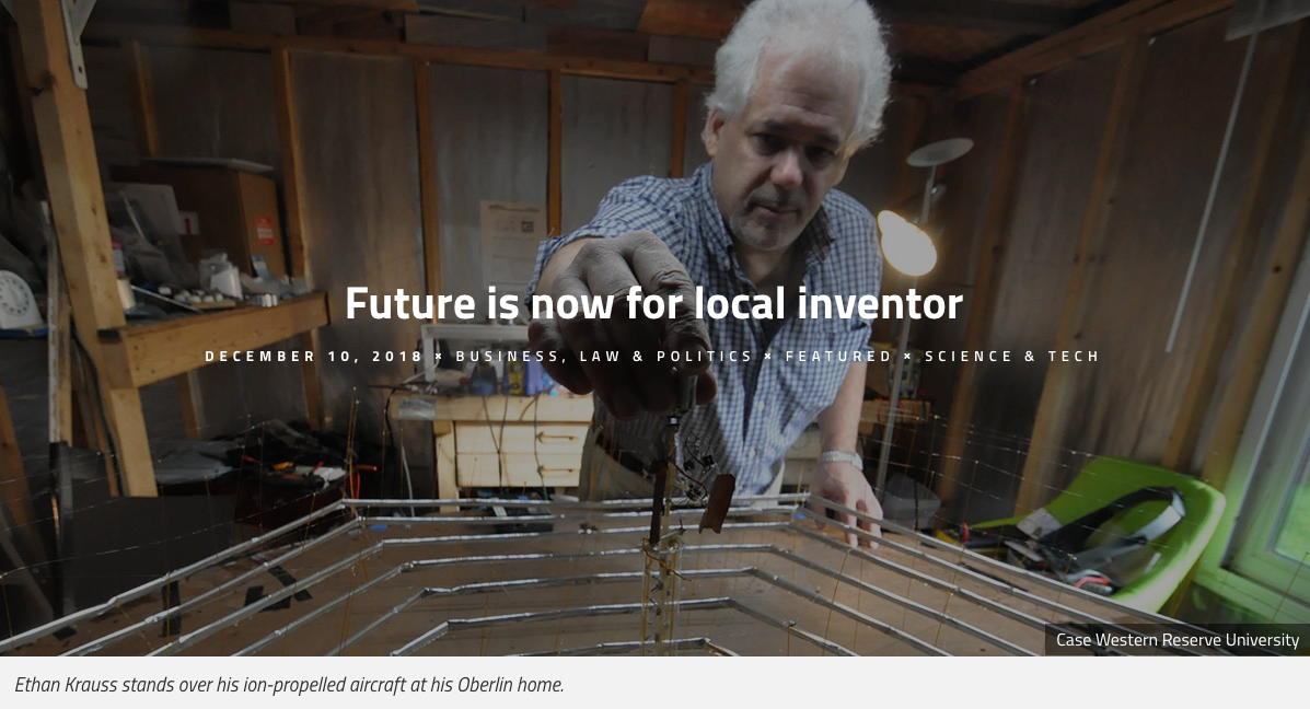 Future is now for local inventor-Ethan Kruass