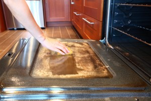 Dirty ovens can cause fires