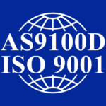 Elcon Precision's AS9100D & ISO certification seal