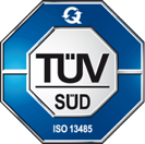 Arc Precision's ISO certification seal