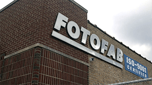 Fotofab Building Sign
