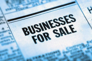 Business for sale in the classified section