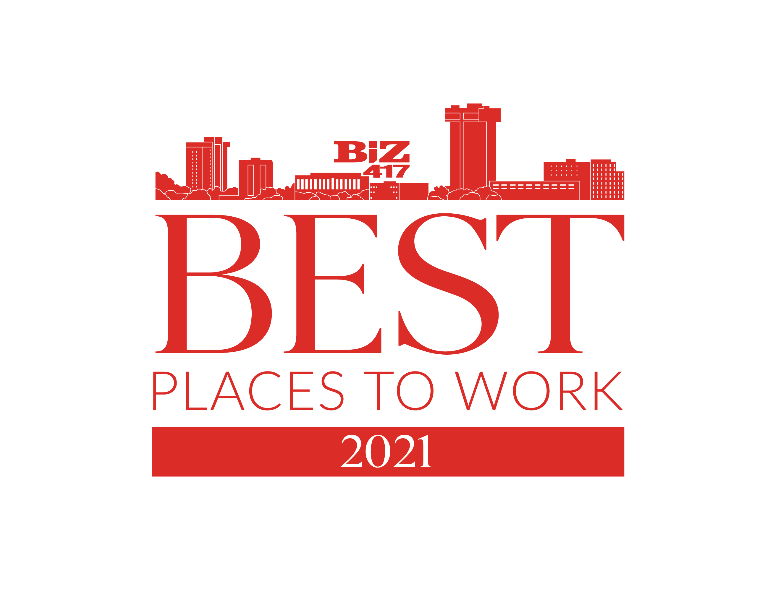 Top 20 Best Places to Work by Biz 417