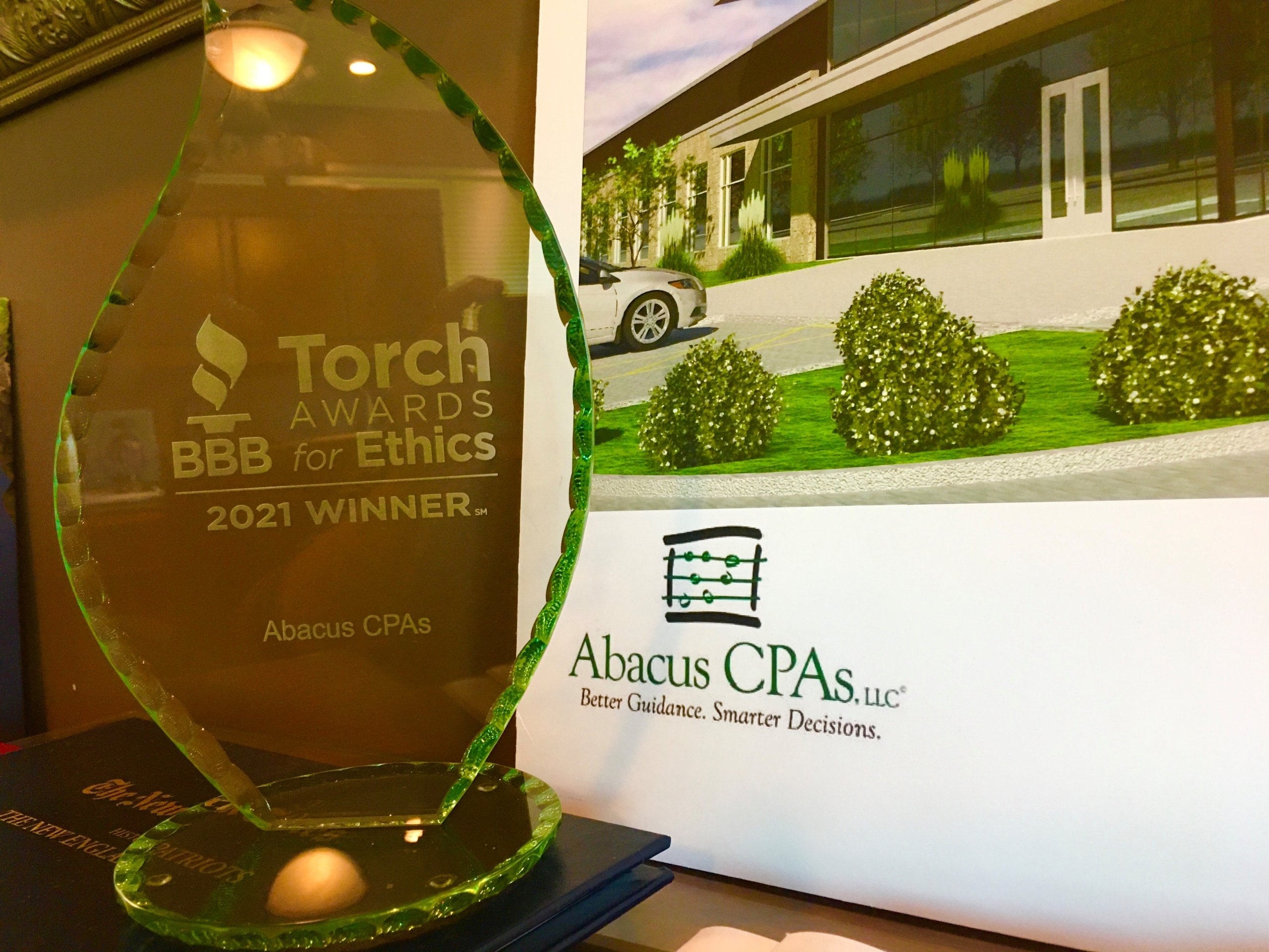 Abacus CPAs, LLC named one of Better Business Bureau's 2021 Torch Award Recipients