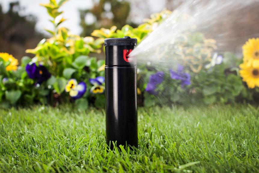 irrigation sprinkler repair