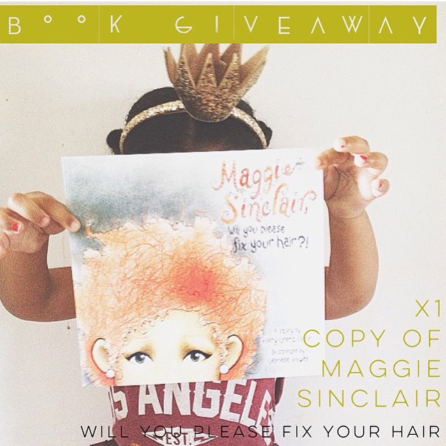 """""""Maggie Sinclair"""" Giveaway!!"""