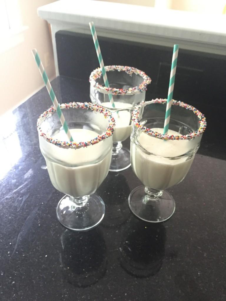 Recipe Friday: Birthday Cake Milkshakes