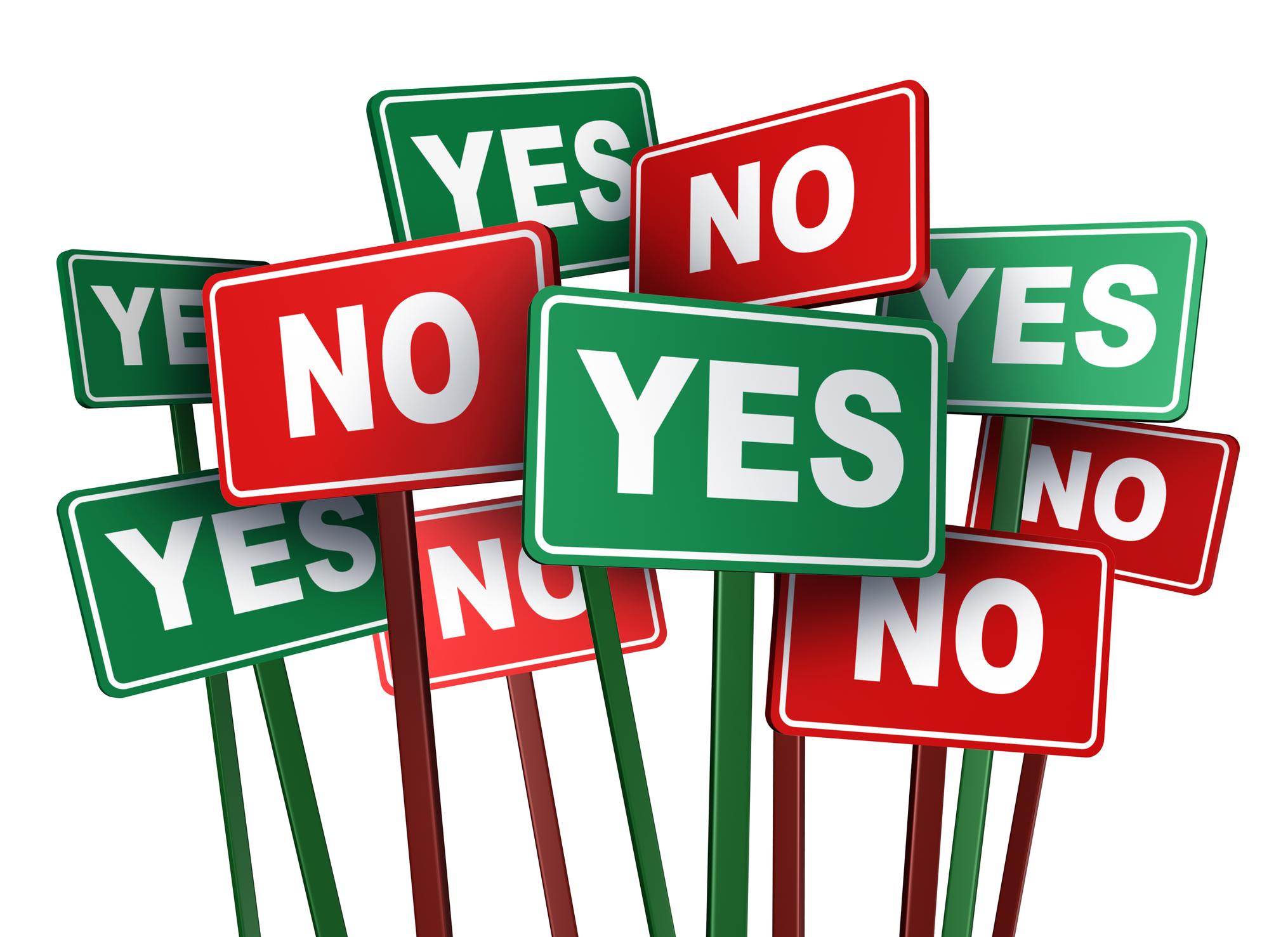 That Time I Said Yes, Then I Said No