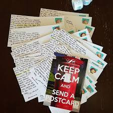 Postcards and Authors