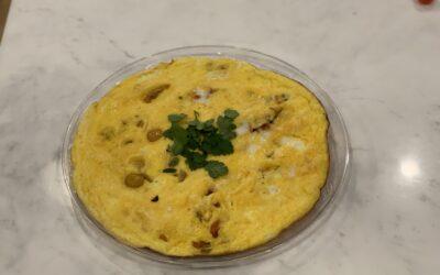 Chunky-Cheesy- Veggie Frittata
