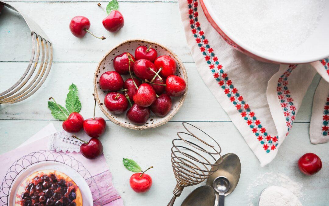 Cherry Walnut Crumble