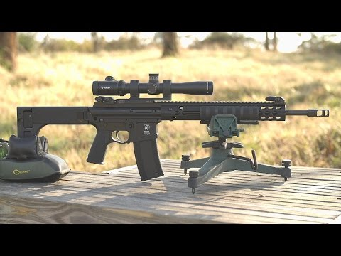 Troy Pump-Action AR-15 Style Rifle