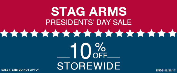 Stag Arms Presidents Day Sale