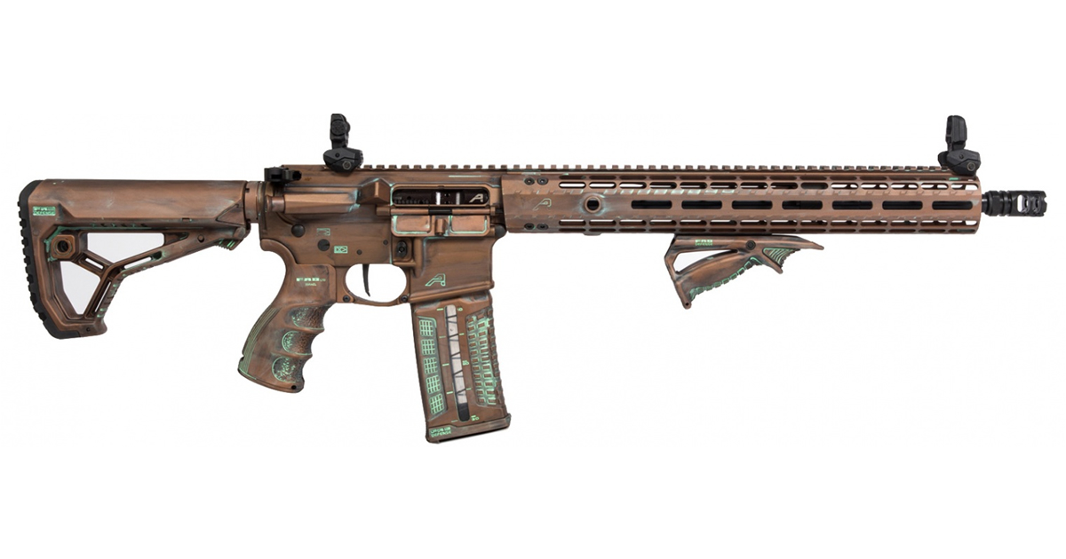 Aero Precision September Rifle Giveaway - M4E1 with Cerakote Finish by Blown Deadline
