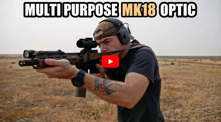 Multipurpose AR-15 with Primary Arms 3x Prism Scope
