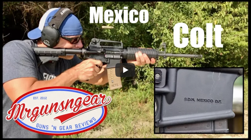 Colt LE6920 Mexico Marked AR-15 Rifle Review