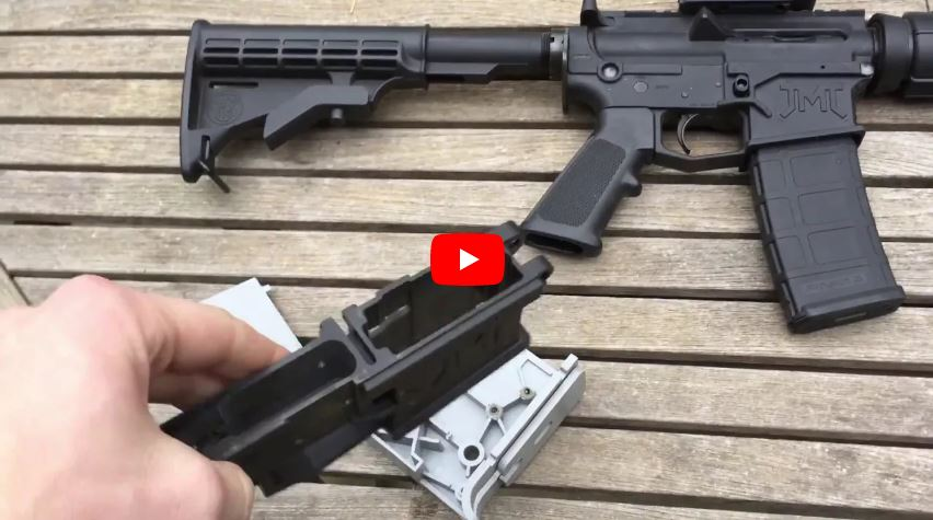James Madison Tactical AR-15 80 Percent Polymer Lower