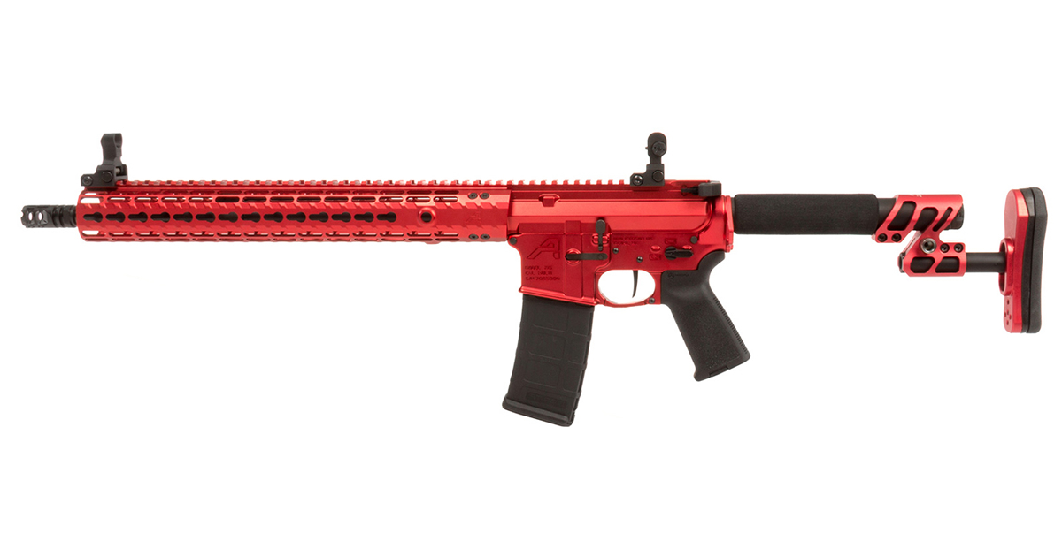 Aero Precision November Rifle Giveaway - M4E1 Complete Rifle in Anodized Red