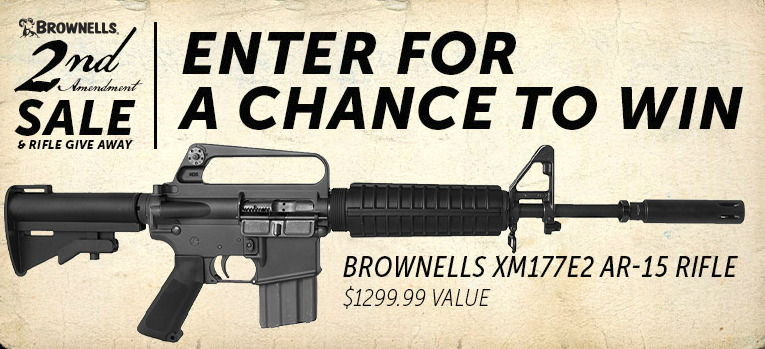 Brownells 2nd Amendment Sale and Rifle Giveaway
