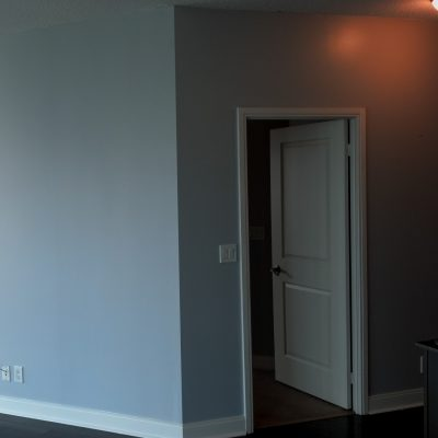 Painting a two bedroom apartment in Mississauga