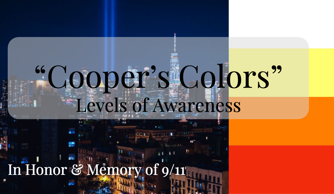 Cooper's Colors | Levels of Awareness