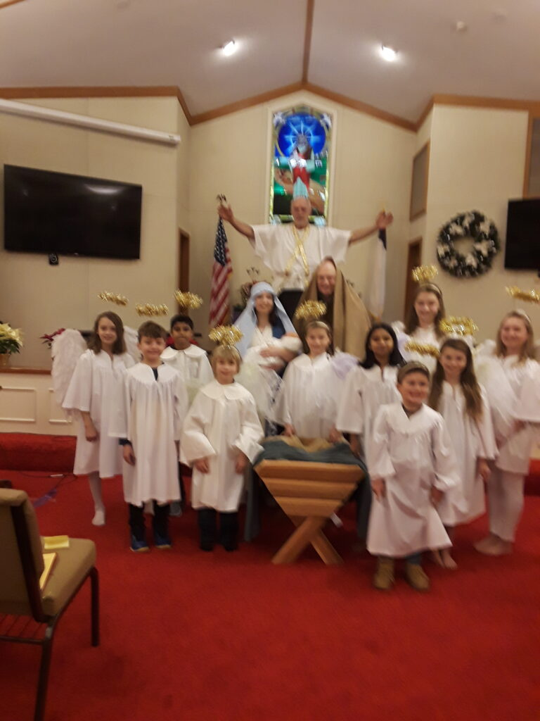 Christmas Eve Candlelight and Pagent